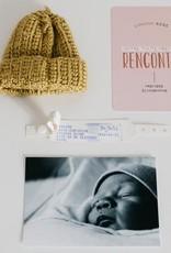 Cartons souvenirs à photographier et à annoter Mes Débuts Maternité