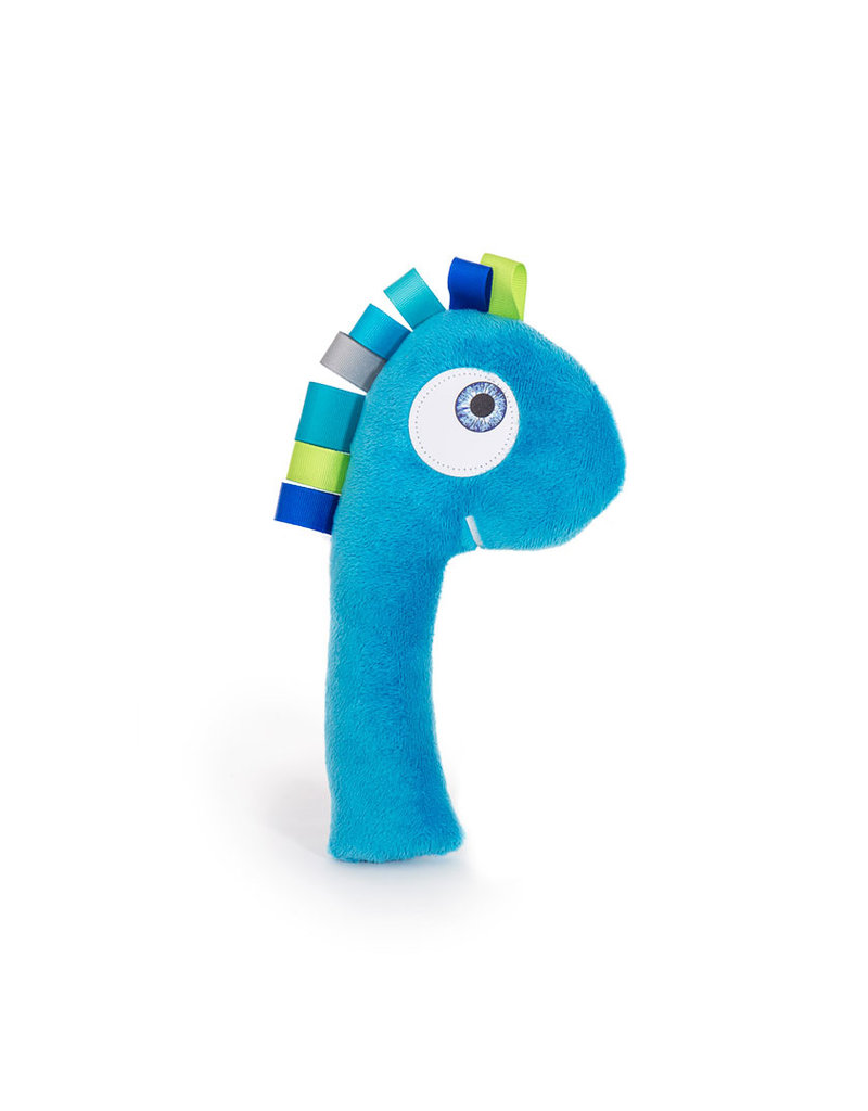 Hochet Tronches dino bleu