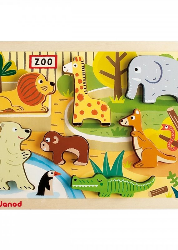 Casse-tête Chunky  Zoo