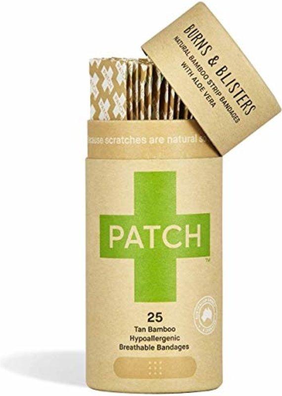 Patch Pansement naturel en bambou - Aloès - Brûlures et ampoules