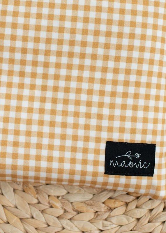 Maovic Oreiller de sarrasin pour enfant Vichy