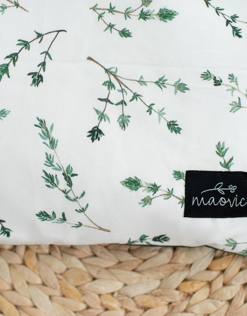 Maovic Oreiller de sarrasin pour enfant Thym