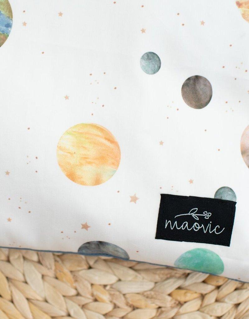 Maovic Oreiller de sarrasin pour enfant Planètes