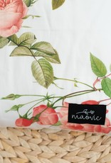 Maovic Oreiller de sarrasin pour enfant Pivoines