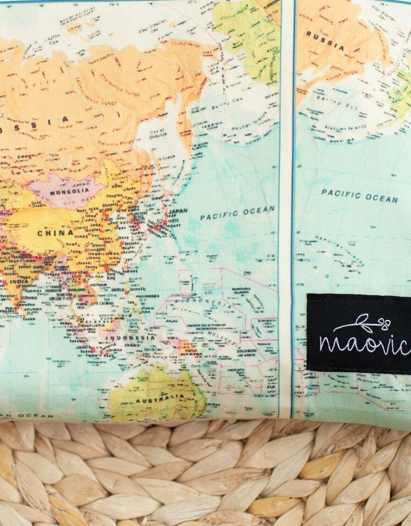 Maovic Oreiller de sarrasin pour enfant Monde