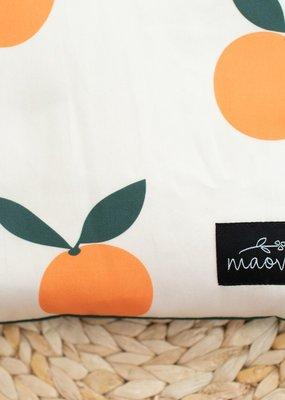 Maovic Oreiller de sarrasin pour enfant Mandarine