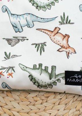 Maovic Oreiller de sarrasin pour enfant Dinosaures