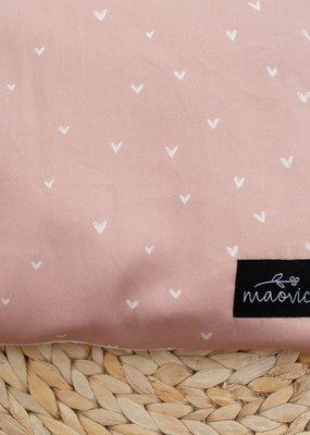 Maovic Oreiller de sarrasin pour enfant Coeurs