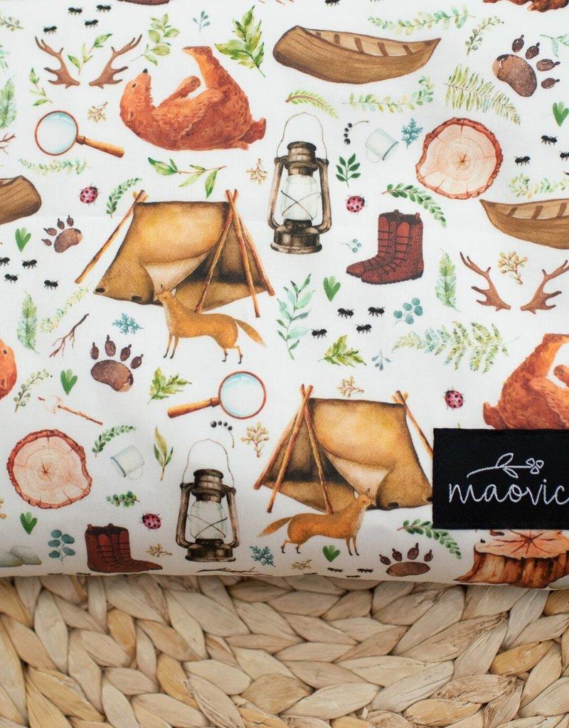 Maovic Oreiller de sarrasin pour enfant Camp d'été