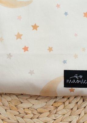 Maovic Oreiller de sarrasin pour enfant Bonne nuit