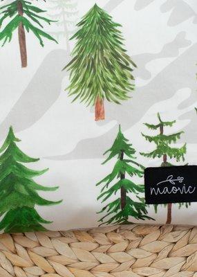 Maovic Oreiller de sarrasin pour enfant Bois