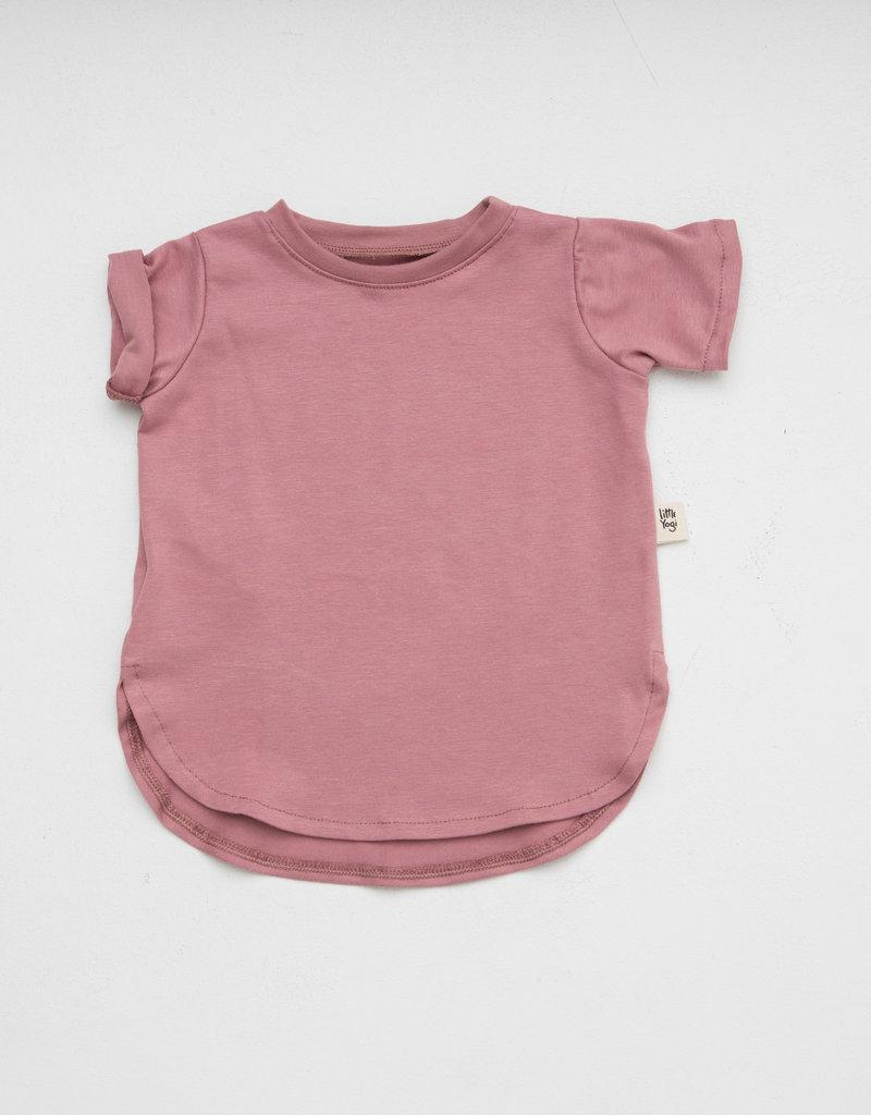 Little Yogi T-shirt Dusty rose