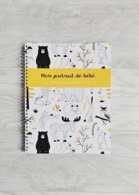 Mon journal de bébé - Forêt jaune moutarde