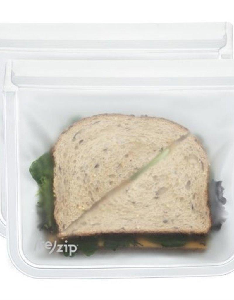 (re) zip (re) zip Sac à lunch 7.25 x 6 po - Paquet de 2