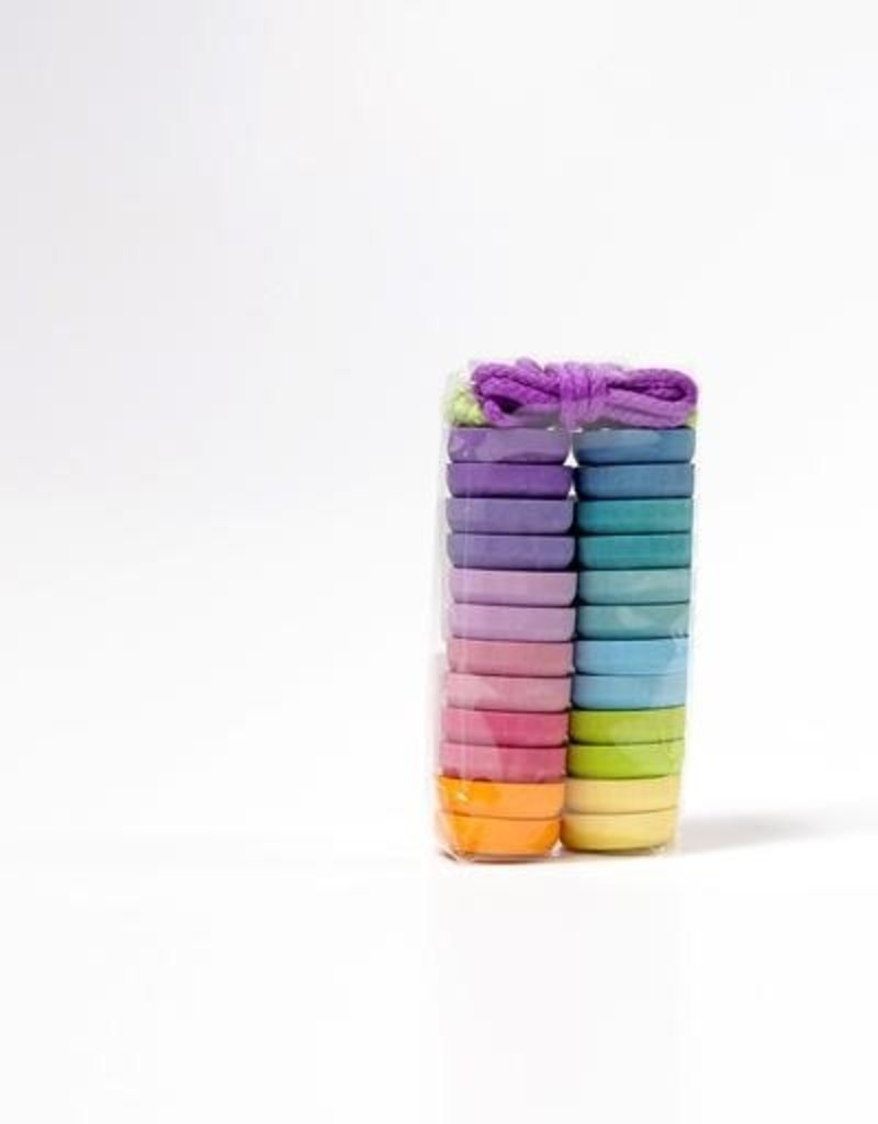 Grimms's Boutons colorés à enfiler 3ans+