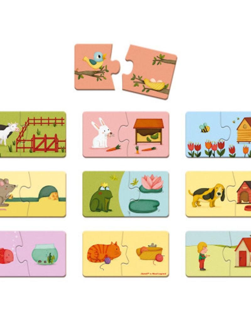 Puzzle Duonimo jeu d'association