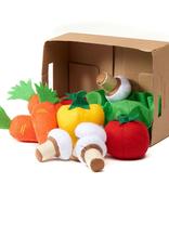 11 légumes en feutres