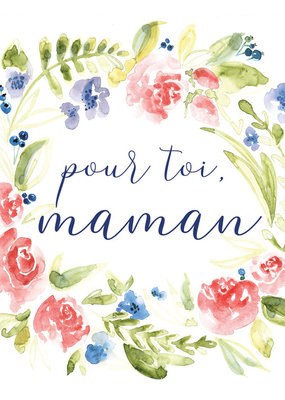 Carte de souhait Pour toi maman Mathilde 5
