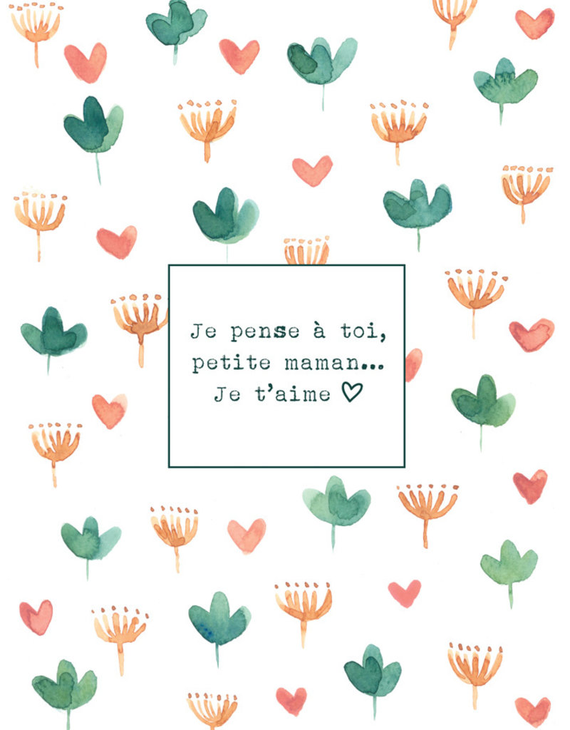 Carte de souhait Fête des mères Simone 19