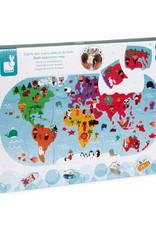 Carte des explorateurs