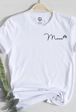 Holive T-shirt Mama Arc-en-ciel blanc