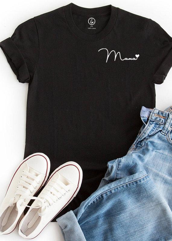 Holive T-shirt Mama Coeur Noir