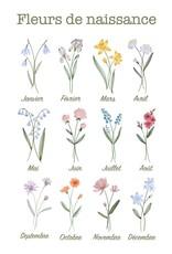 Holive Cache-couche fleur de naissance Mai