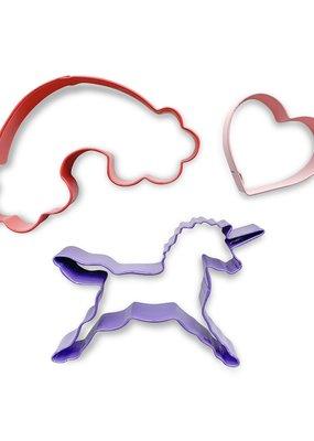 Dough Parlour Emporte-pièce licorne et arc-en-ciel