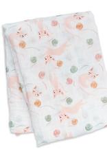 Couverture en mousseline en coton LLJ Kitty