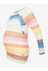 Haut manches longues maternité/allaitement Rainbow