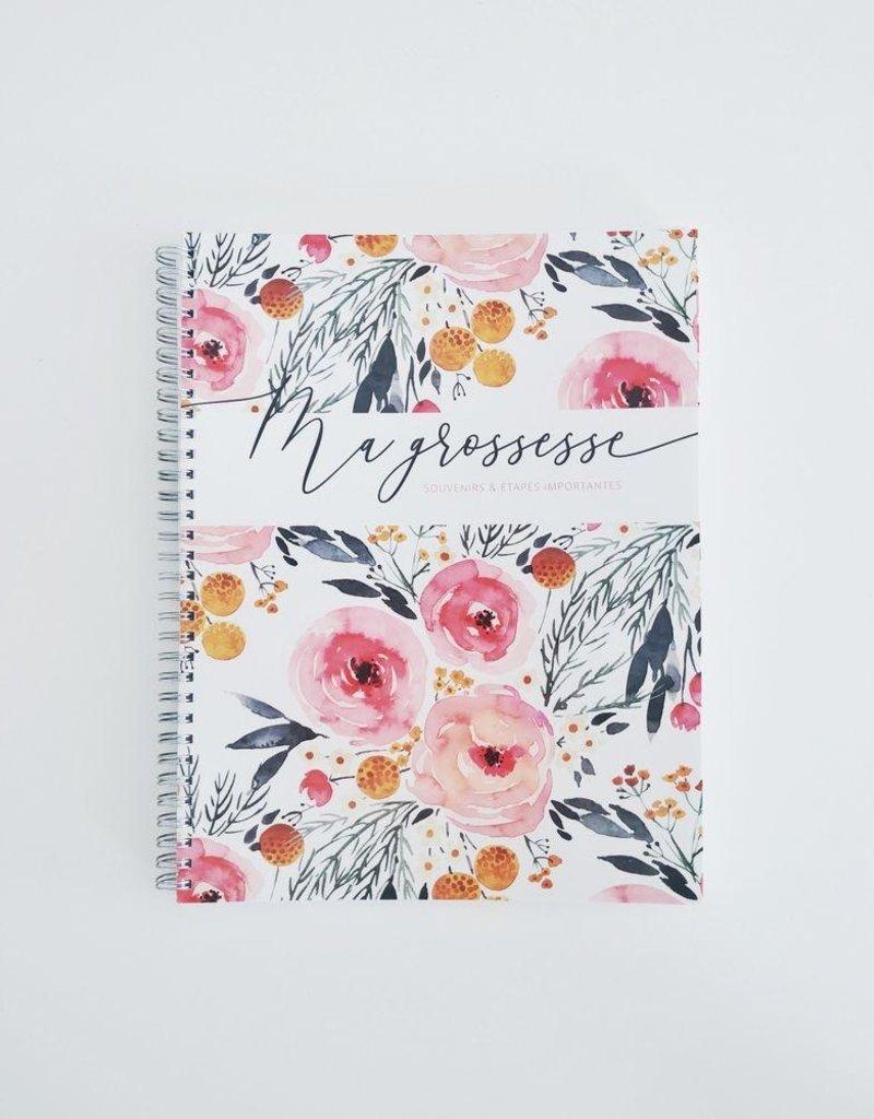 Mon journal de grossesse - Fleurs printanières