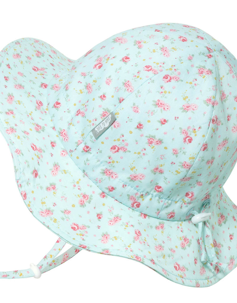 Jan & Jul Chapeau coton floppy Retro Rose
