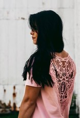Koallac T-shirt réversible maternité et allaitement Alexandra rose
