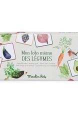 Loto et mémo des légumes - Le jardin