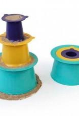 Alto moules emplables et colorés pour jouer sable ou neige
