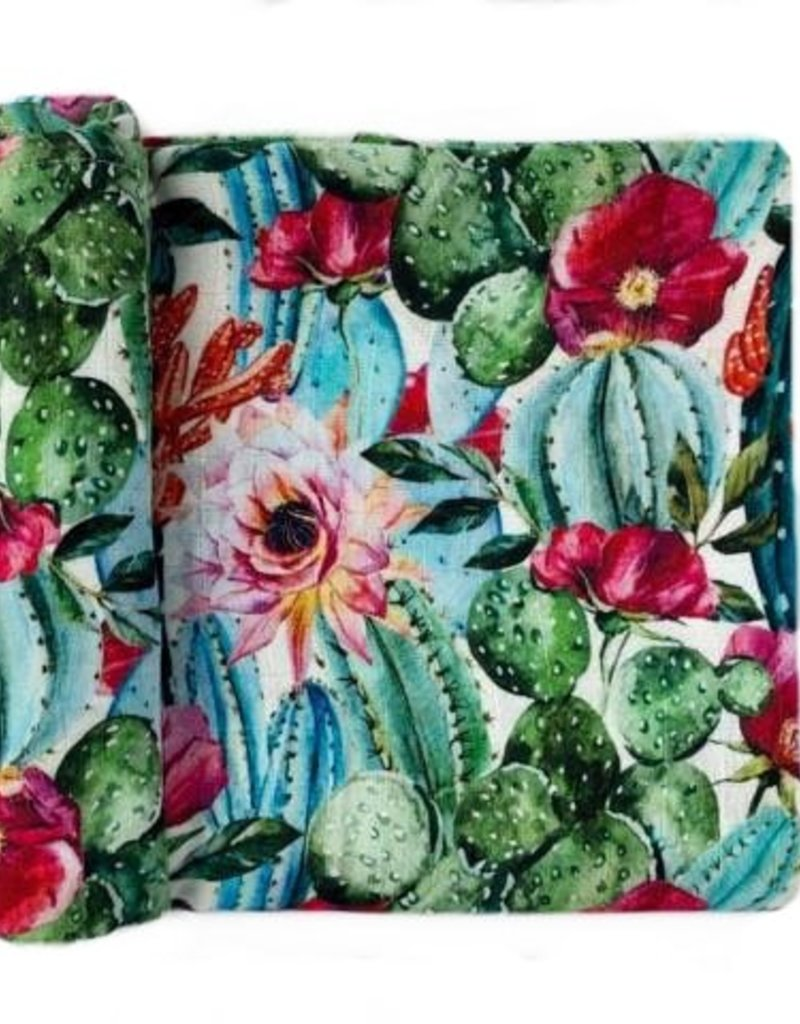 Doux Bécot Mousseline DB Cactus