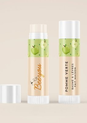 Beeyou Baume à lèvre Pomme verte