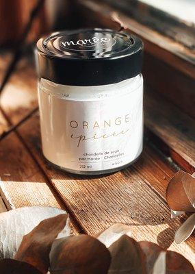 Marée Chandelles Chandelle de soya Orange épicée