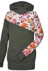 Nine Hoodie 3 en 1 Fleurs d'automne
