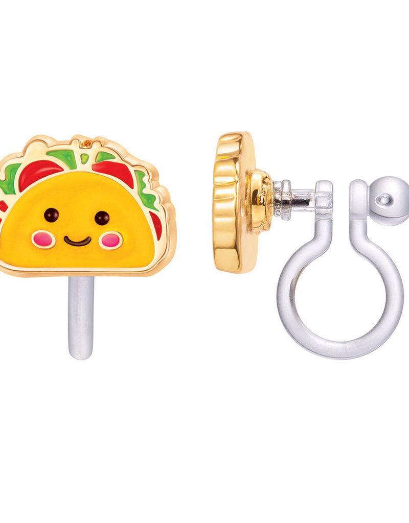 Boucle d'oreille à clip Taco