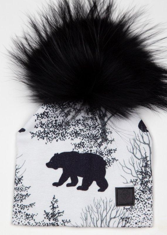 Doux Bécot Tuque ours blanc
