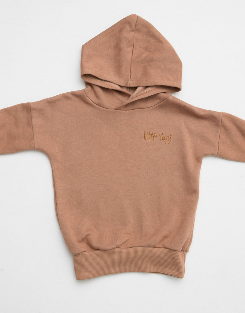 Little Yogi Hoodie Earth