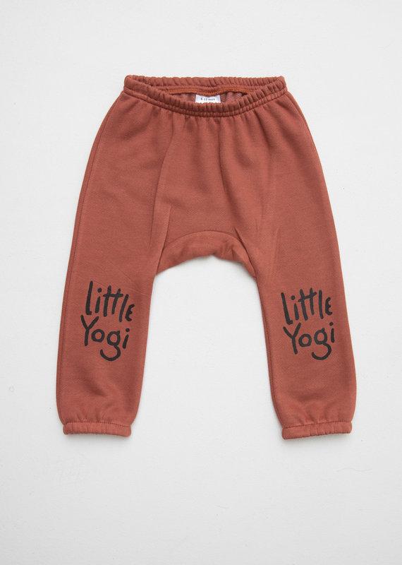 Little Yogi Sweat Pant Dark Peach