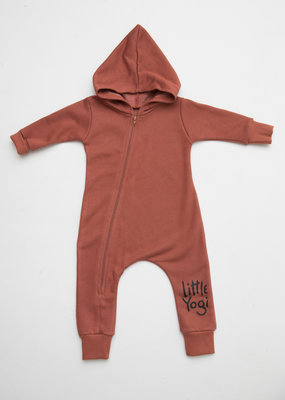 Little Yogi Full sweat Dark Peach