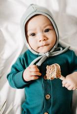 Little Yogi Bonnet fleece Sauge