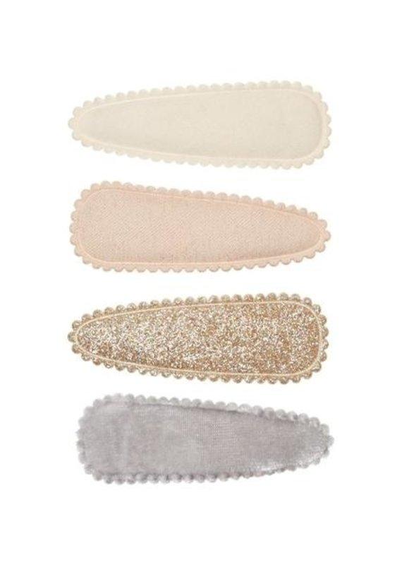 Velvet 4 barettes clic clac