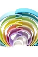 Dena Arc en ciel pastel grand format 12 pièces