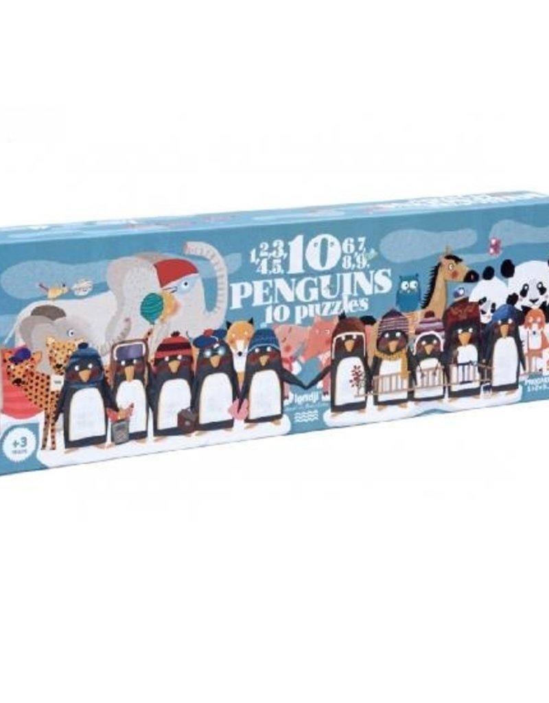 Casse-tête 10 pingouins