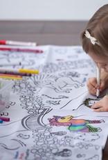 Bimoo Nappe à colorier Fantastique 45 x 45po