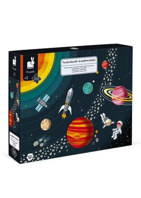 Casse-tête éducationnel - 100 pièces Système solaire